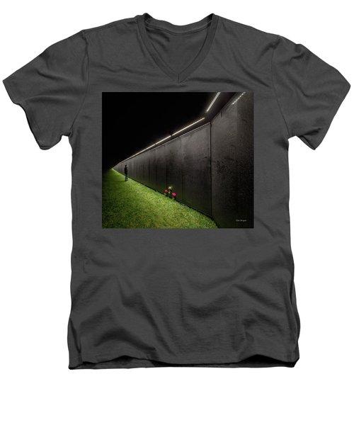 Searching For Steven Men's V-Neck T-Shirt