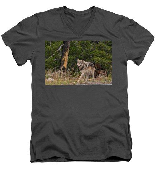 W1 Men's V-Neck T-Shirt