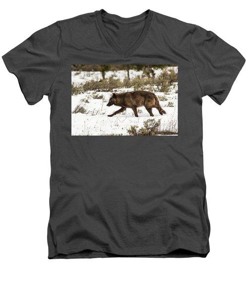 W10 Men's V-Neck T-Shirt