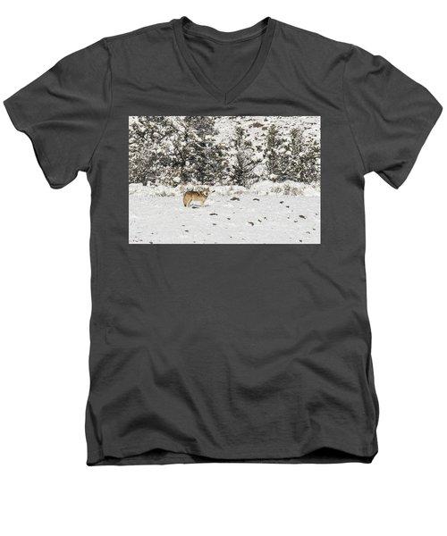 W16 Men's V-Neck T-Shirt