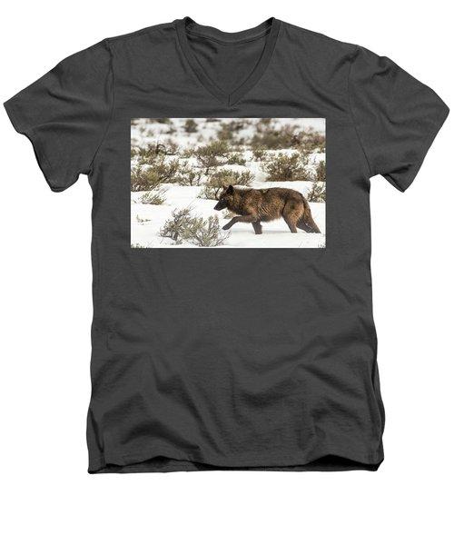W3 Men's V-Neck T-Shirt