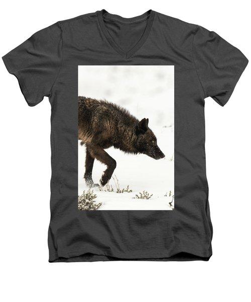 W46 Men's V-Neck T-Shirt