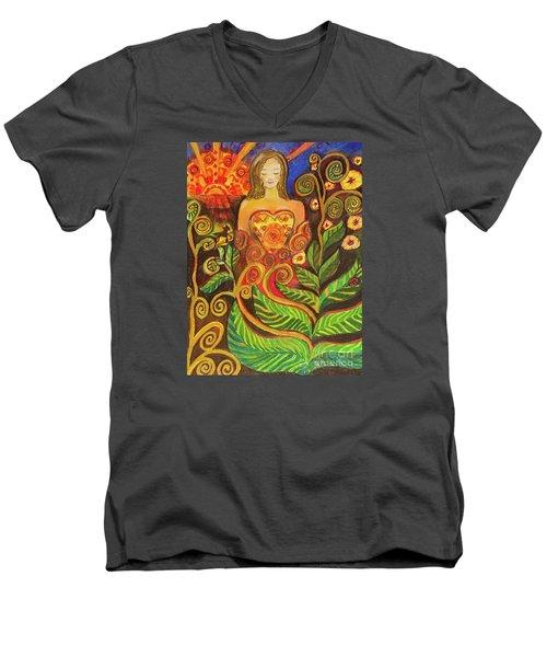 Zen Morning Men's V-Neck T-Shirt