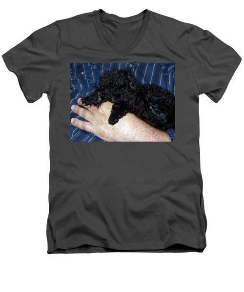 122818 Pals Men's V-Neck T-Shirt