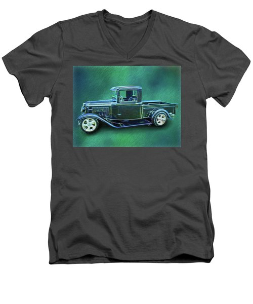 1934 Ford Pickup Men's V-Neck T-Shirt