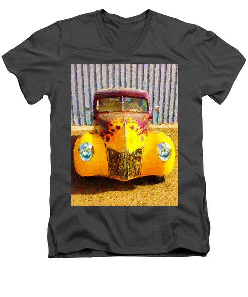 1940 Ford Men's V-Neck T-Shirt