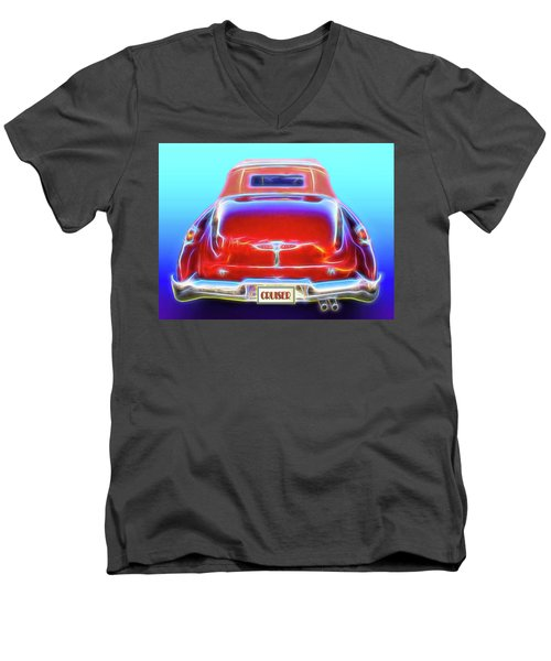 1949 Buick Cruiser Men's V-Neck T-Shirt