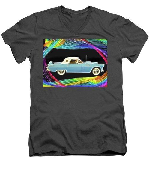 1956 Thunderbird Men's V-Neck T-Shirt