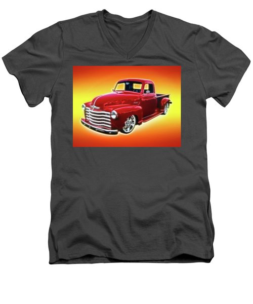 19948 Chevy Truck Men's V-Neck T-Shirt