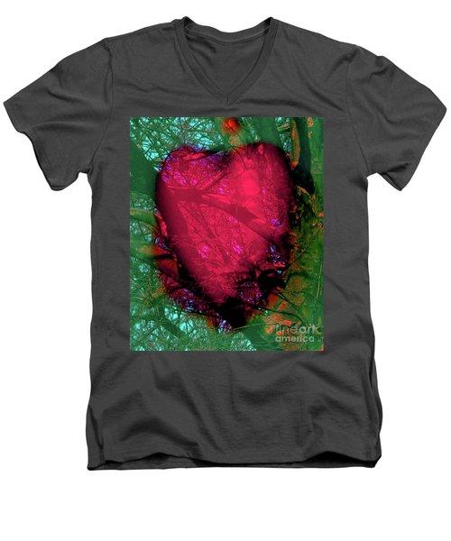 2-16-2009ab Men's V-Neck T-Shirt