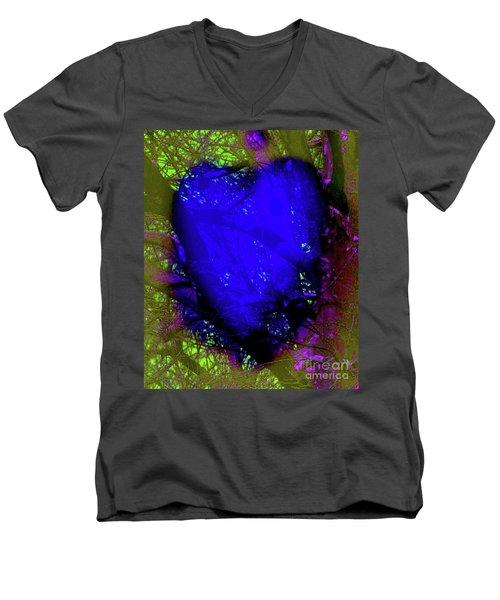 2-16-2009abcdefg Men's V-Neck T-Shirt