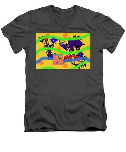 2-25-2019e Men's V-Neck T-Shirt