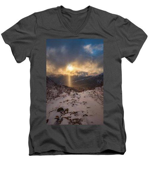 Let There Be Light Men's V-Neck T-Shirt