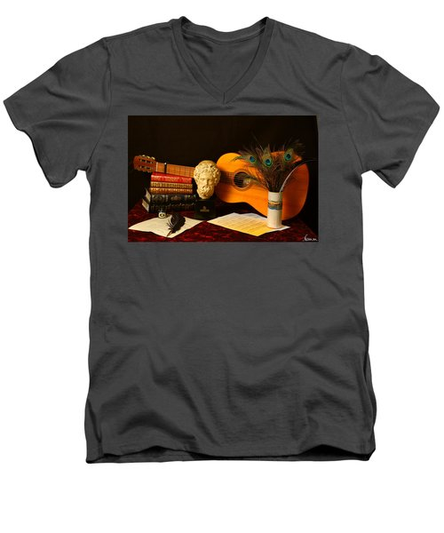 The Arts Men's V-Neck T-Shirt