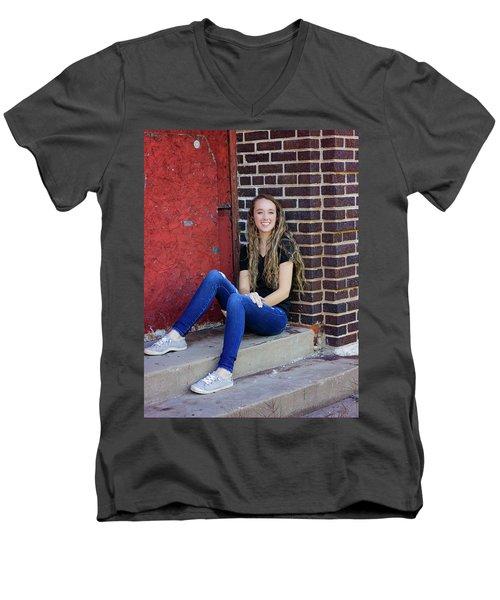 20A Men's V-Neck T-Shirt
