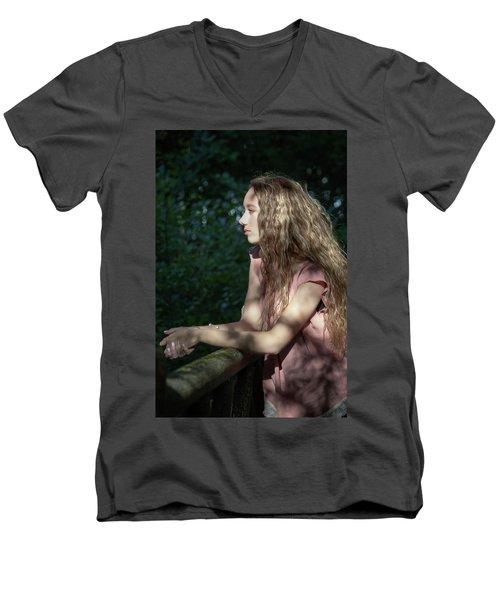 24C Men's V-Neck T-Shirt