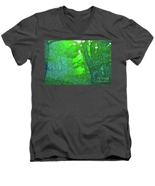 3-16-2009v Men's V-Neck T-Shirt