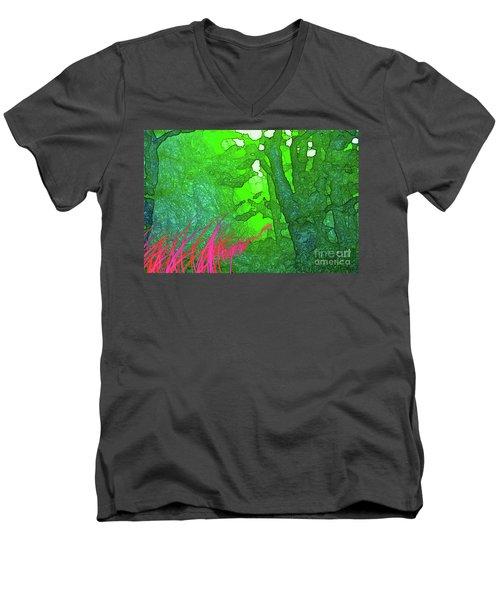 3-20-2009ab Men's V-Neck T-Shirt