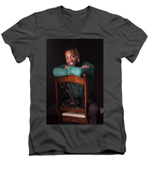 Portraits Men's V-Neck T-Shirt