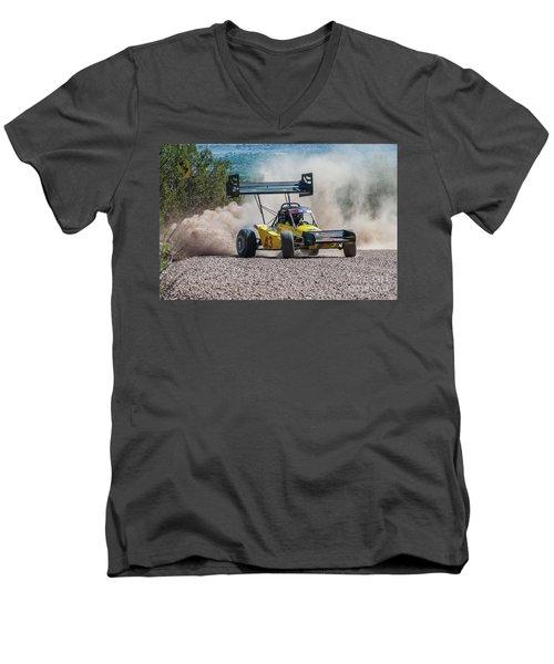 #43 Spencer Steele Men's V-Neck T-Shirt