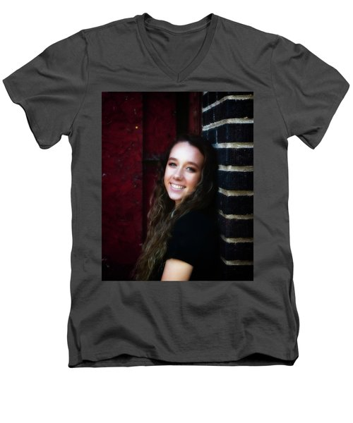 4A Men's V-Neck T-Shirt