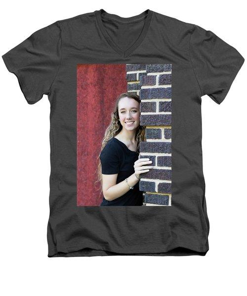 5AE Men's V-Neck T-Shirt