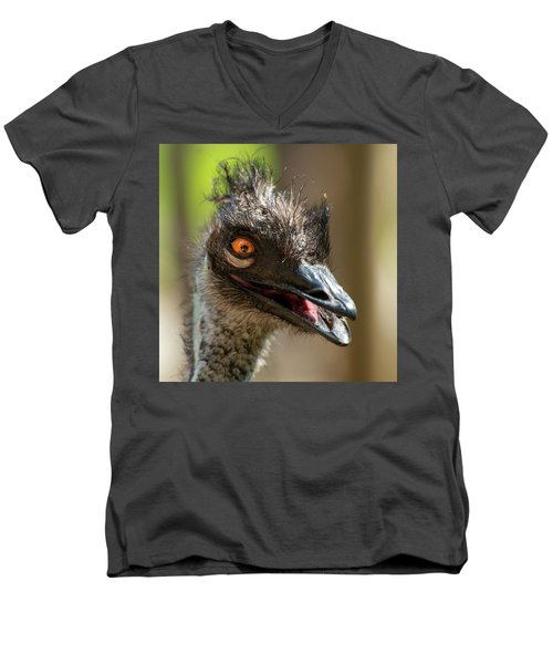 Australian Emu Outdoors Men's V-Neck T-Shirt