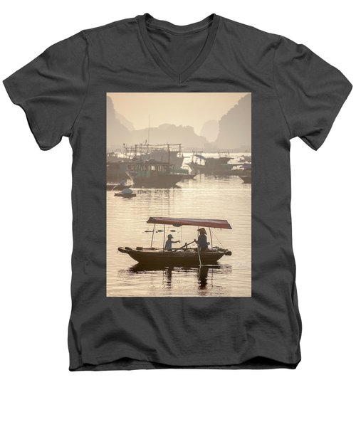 Ha Long Bay Men's V-Neck T-Shirt