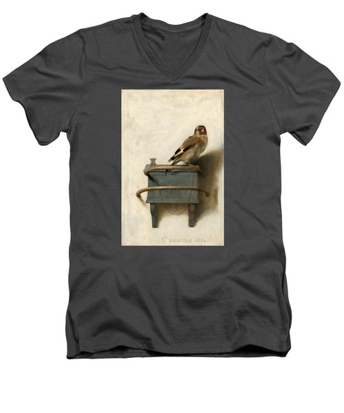 The Goldfinch Men's V-Neck T-Shirt