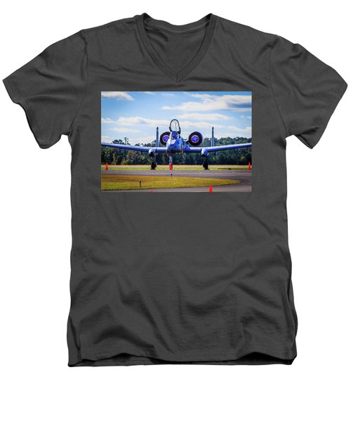 A-10c Thunderbolt II Men's V-Neck T-Shirt