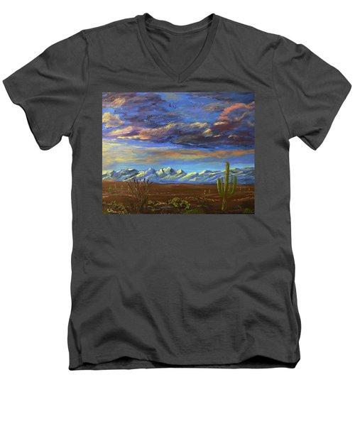 A Catalina Winter Men's V-Neck T-Shirt