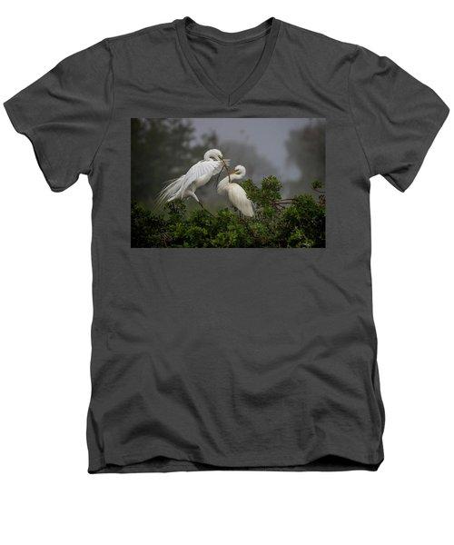 A Couple Of Birds Men's V-Neck T-Shirt