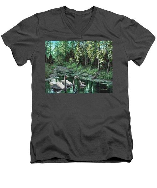 A Day Out Men's V-Neck T-Shirt