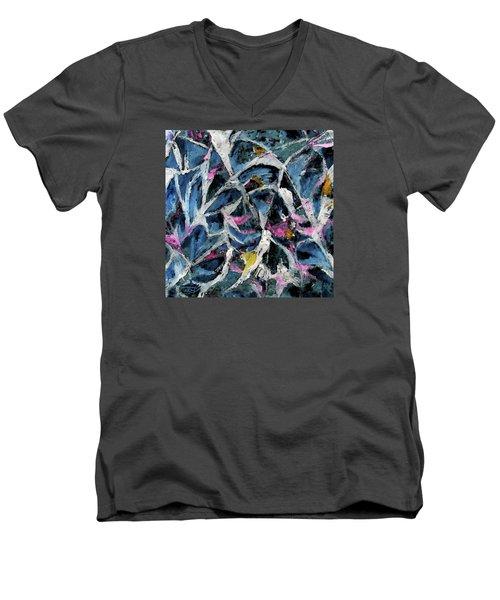 A Fine Web Men's V-Neck T-Shirt