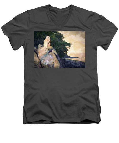 A Mermaid's Tale Men's V-Neck T-Shirt