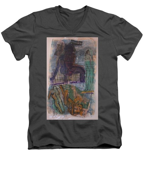 A Pawn On Life's Board Men's V-Neck T-Shirt