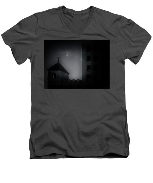 A Peak Through The Dark Men's V-Neck T-Shirt