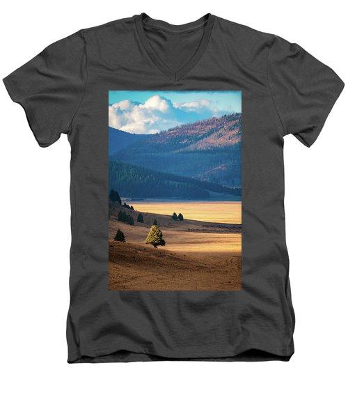 A Slice Of Caldera Men's V-Neck T-Shirt