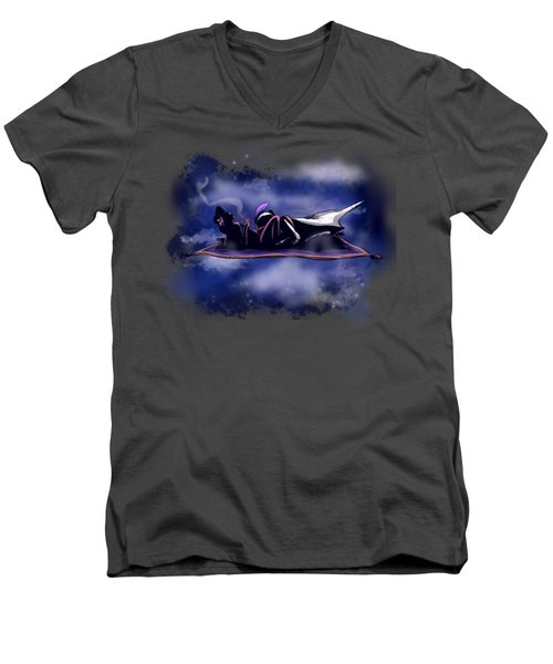 A Whole New World Men's V-Neck T-Shirt