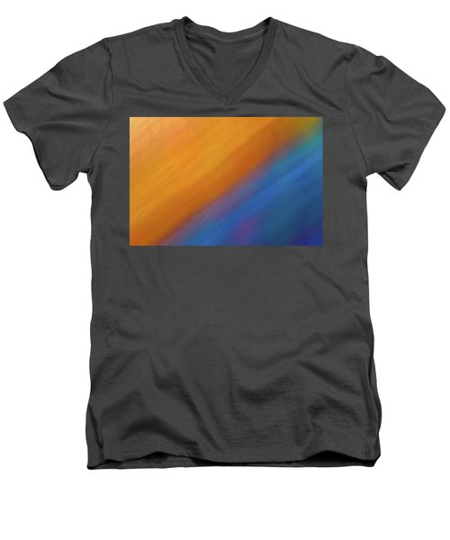 Abstract 44 Men's V-Neck T-Shirt