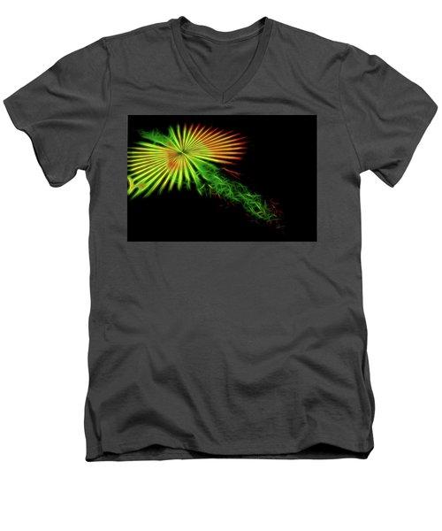 Abstract 47 Men's V-Neck T-Shirt
