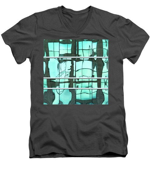 Abstritecture 36 Men's V-Neck T-Shirt