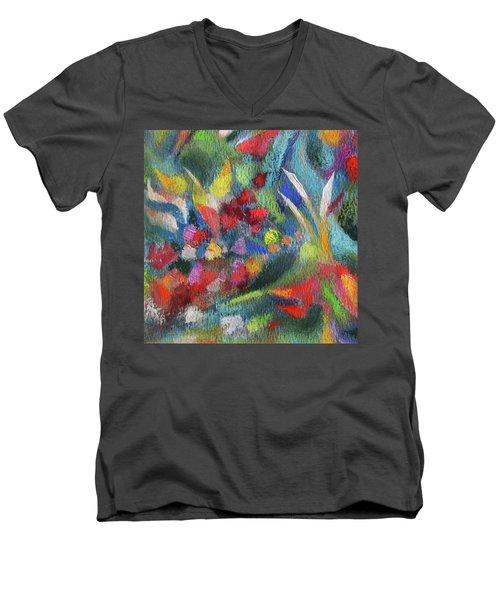 Abundance - Detail Men's V-Neck T-Shirt