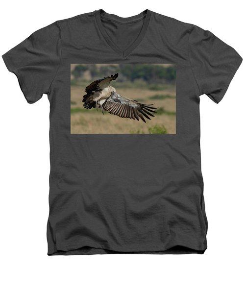 African White-backed Vulture Men's V-Neck T-Shirt