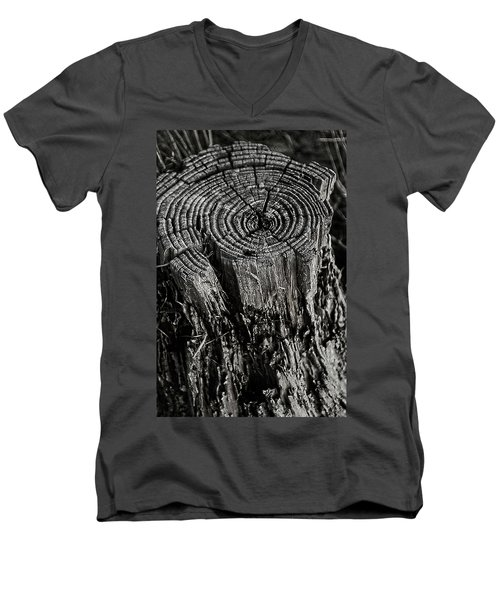 Age Men's V-Neck T-Shirt