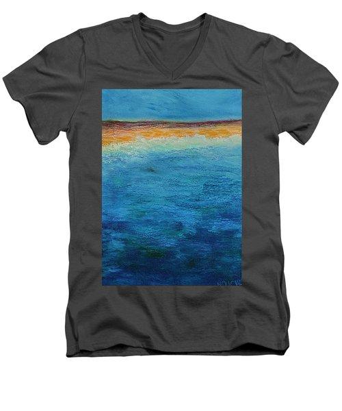 Aguamarina Men's V-Neck T-Shirt