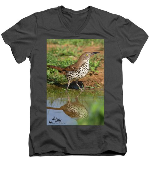 Alert Thrasher Men's V-Neck T-Shirt