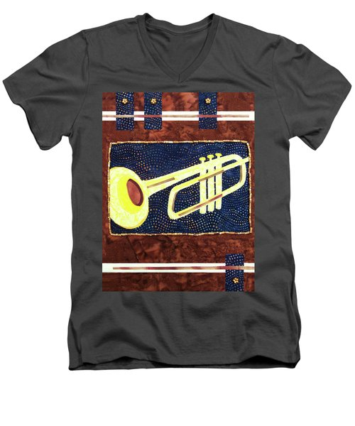 All That Jazz Trumpet Men's V-Neck T-Shirt