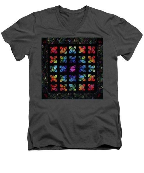 All The Colors Men's V-Neck T-Shirt