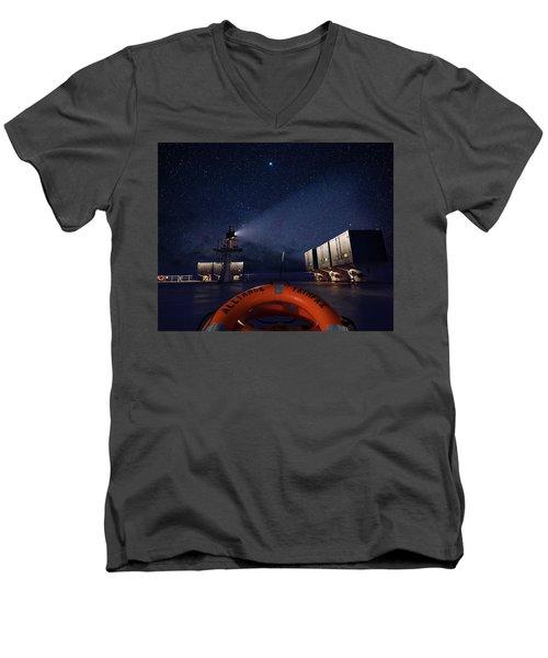 Alliance Fairfax Starry Night Men's V-Neck T-Shirt